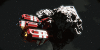 Crashed Red Ship